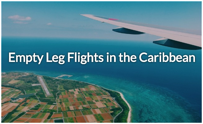 empty leg charter flights in the caribbean and puerto rico